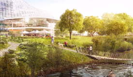 Proposed Google Mountain View Headquarters