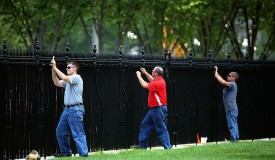 New Security Installed At White House Fence