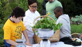 First Lady Hosts White House Kitchen Garden Fall Harvest