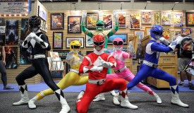 Saban's Power Rangers At San Diego Comic-Con