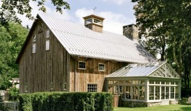 Barn inspired home