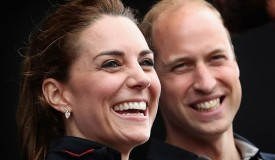 Duke and Duchess of Cambridge at America's World Cup Series
