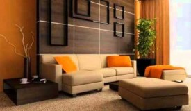 Brown Color Decoration Room Interior Picture Collection