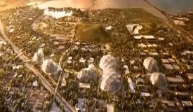 Google Reveals Otherworldly Design For New Headquarters (CBS/YouTube))
