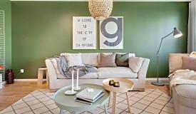 Apartment With Pastel Scandinavian Interior