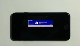 Windows XP on the iPhone 7!