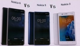 Full Specifications Of The New Nokia 6, Nokia 5 & Nokia 3