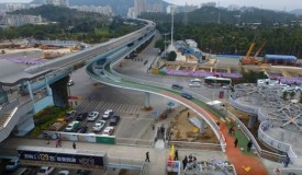 World's Longest Elevated Cycle Path Is In China