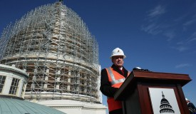 Architect Of The Capitol Briefs Media On Dome Restoration