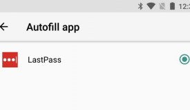 LastPass' new Autofill feature.
