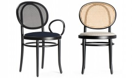 Thonet's classic bistro chair.
