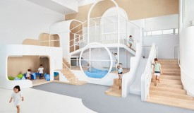 New children play center in Alexandria, Sydney.
