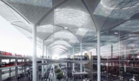 The newest Istanbul airport terminal by London-based design firm Grimshaw