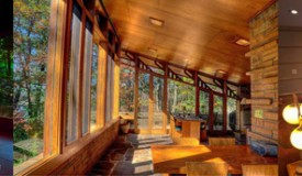 Stay in one of these Usonian Homes by Frank Llloyd Wright for a night or two
