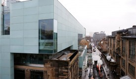 The new Seona Reid Building Glasgow School of Arts took the AJ100 awards