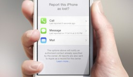 Report as Lost rendering for iPhone