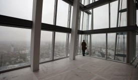Views from the 69th floor of The Shard