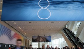 Attendees gather at the Apple Worldwide Developers Conference