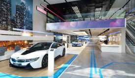 The interactive design of BMW Brussels Brand Store won the 2014 Iconic Award