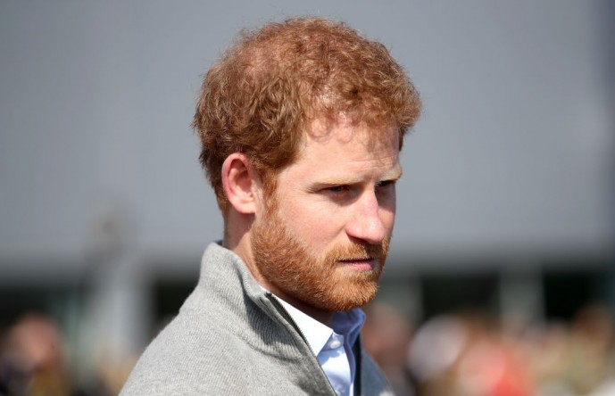 Prince Harry sought counseling.