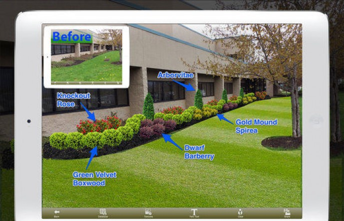 Virtual technology can make landscaping easier