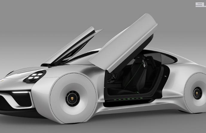 Porche 911E Concept