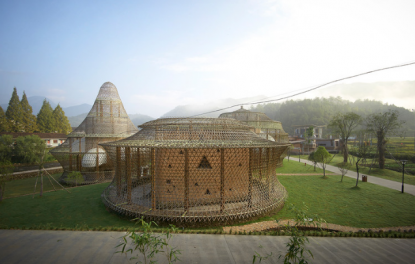 The First-Ever International Bamboo Architecture Biennale, Captured by Julien Lanoo