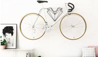 A Heart-Shaped Bike Hanger Designed For Bike Lovers