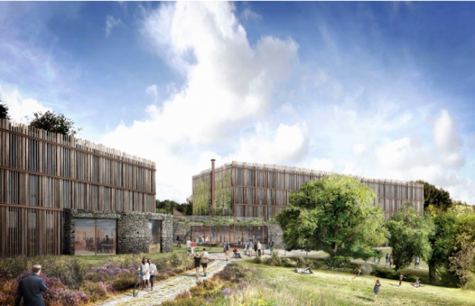 Tate Harmer Reveals Plans for Eco-Hotel at the Eden Project in England